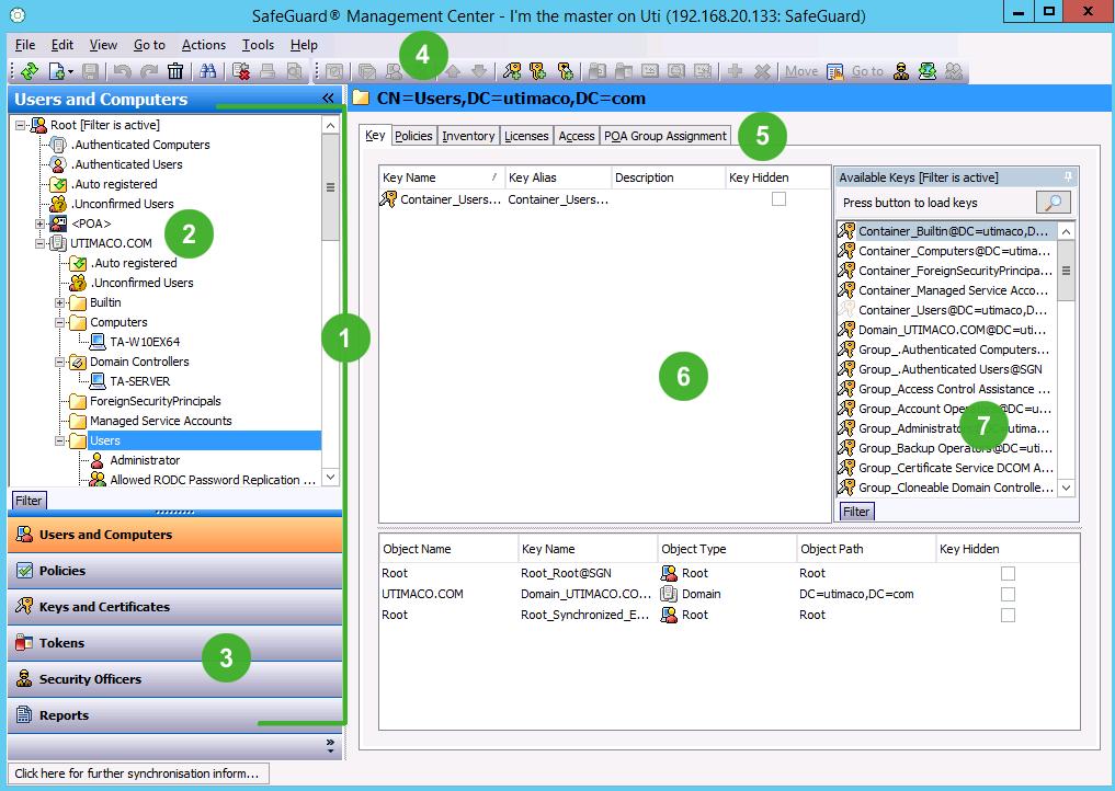 Safeguard enterprise administrator help navigation yadclub Images