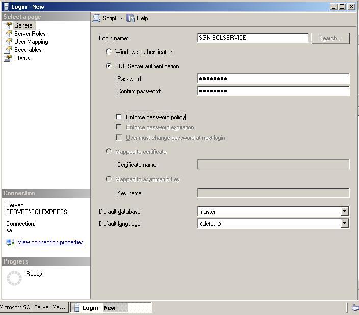 change windows username sql